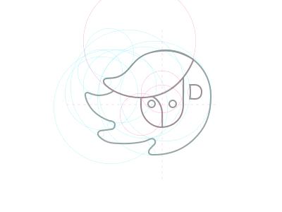 Logo guides sketch construction guides grid logo