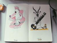 Ink drawings - 2