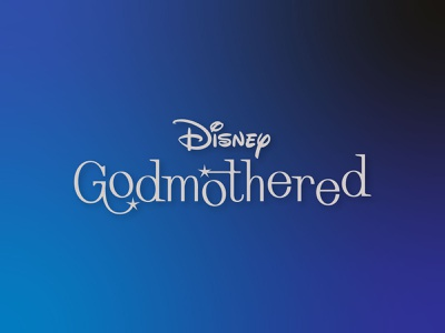 Disney's Godmothered: Unchosen Movie Title Treatments logo design lettering branding agency title treatment movie logo disney custom lettering custom type type design branding logo hoodzpah