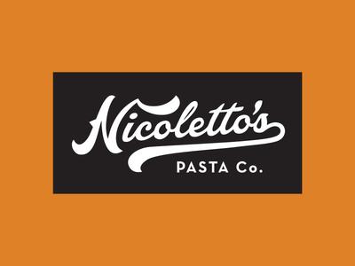 Nicoletto's Pasta Logo A