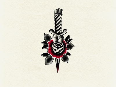 Stab Wounds tattoo traditional tattoo typography branding logo icon vector illustration graphic design