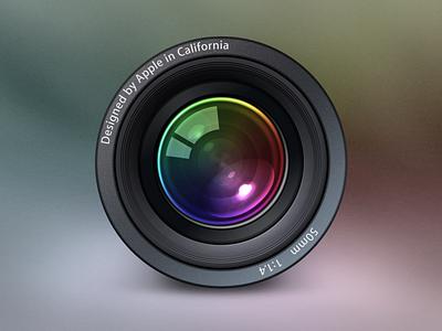 Aperture Icon aperture apple photography icons photoshop cinema 4d