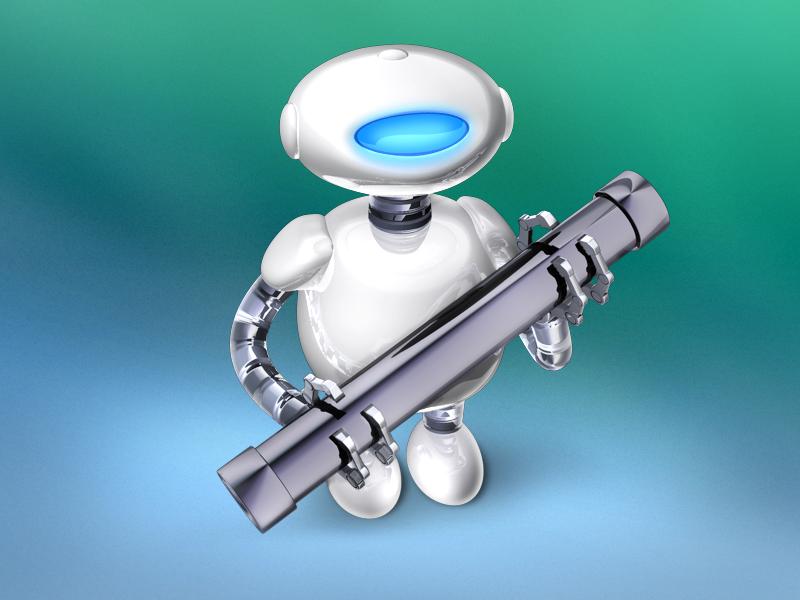 Automator automator apple robot icons photoshop cinema 4d
