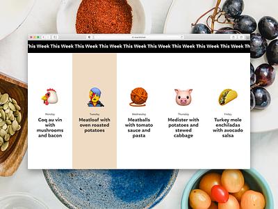 👨🍳 NoA Kitchen (desktop version) noa desktop menu lunch emoji