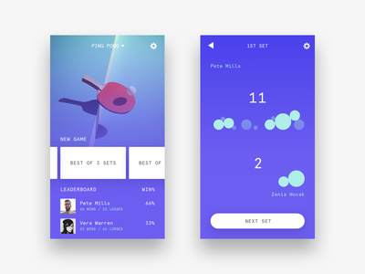 🏁 Rivals rivals app table tennis ping pong side project