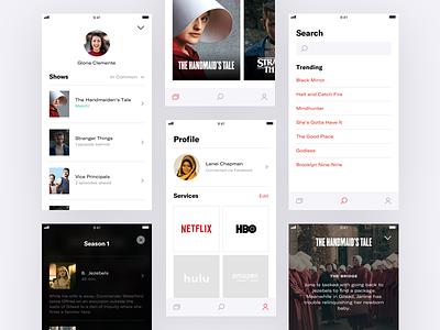 👀  Binge — Screens tv shows series ios episodes concept binge app