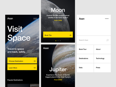 Asan (Space Tourism Concept) helvetica tourism mobile space