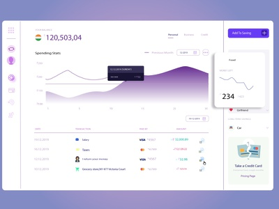 Statastic Page profile debit card credit card card branding ui illustrator illustration dribbble best shot dribbble design rupee rupees india debit credit statistics dashboard design dashboard ui