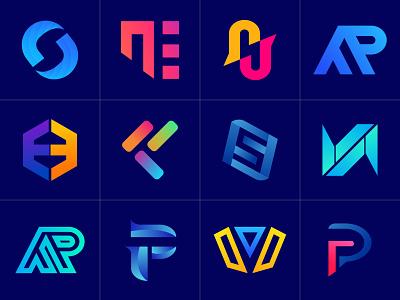 Branding Logo Mark identity creative design creative minimalist logo logo mark minimal lettering icon illustrator illustration logo design branding logo design abstract 3d