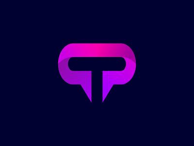 T Branding letter logo app logotype t logo lettermark logodesign 3d brand identity abstract minimal lettering icon illustration logo design branding logo design