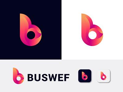 B letter logo minimal minimalist logo letter design lettermark b logo design typography 3d 2d brand identity abstract lettering illustrator illustration icon logo design branding logo design
