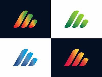 Branding logo design creative logo modern gradient monogram lettermark colorful qrstuvwxyz abcdefghijklmnop 3d 2d minimal vector lettering illustrator icon illustration logo design branding logo design