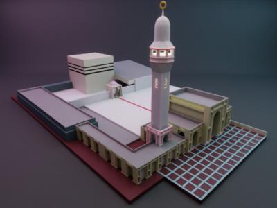 Baitul Mukarram; simple model