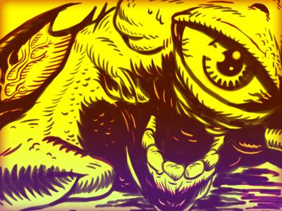 Swamp Bat Sketch 1