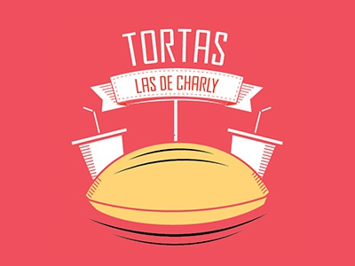 Las de Charly food tortas turtle fastfood charly brand identity