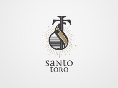 Santo Toro Identity mexico mezcal branding