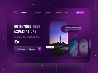 Travel Agency Concept ui  ux webdesign designer branding design ui