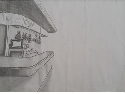 Canteen sketch day2 dailywarmup daily design art drawingart sketch process drawingnote sketchbook vector pencil art illustration fun