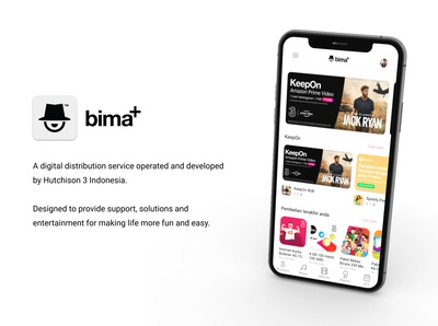 bima+ Redesign Proposal cover