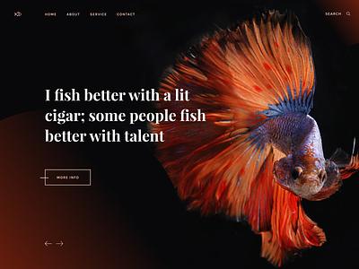 Creative banners search logo ux design app design website design brand identity prototype hire freelance uiux uidesign website typogaphy black freebie figma creative fish