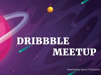 Dribbble Meetup 2019 by Sparx IT Solutions design