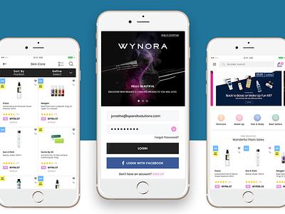 Wynora website development app development website design