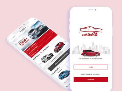 Carteckh app development app design website development website design