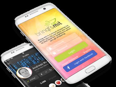 Bring Mit Shopping App app design app development