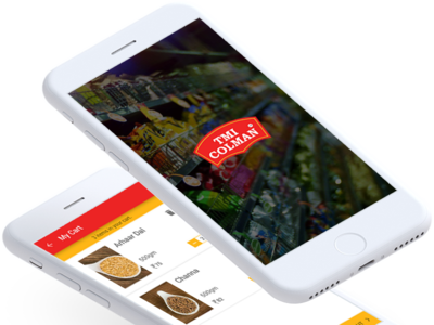 Dalbasket Pulses Ordering App