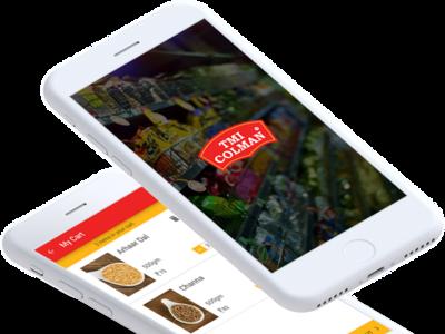 Dalbasket Pulses Ordering App ux ui app development hybrid app