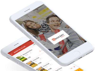Grocery Basket Online Supermarket App ios app app design android app app development