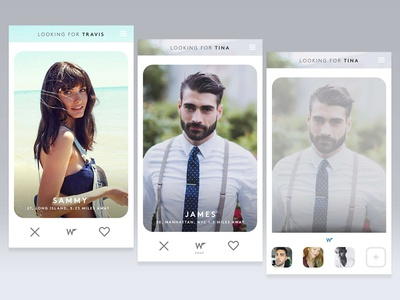 Dating App Conceptual Work