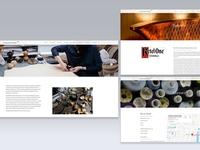 Sarabande Foundation (Lee Alexander McQueen) website design