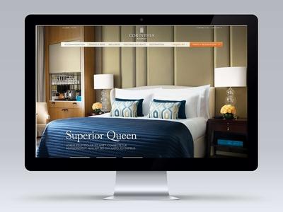 Corinthia Hotel Global Website Redesign