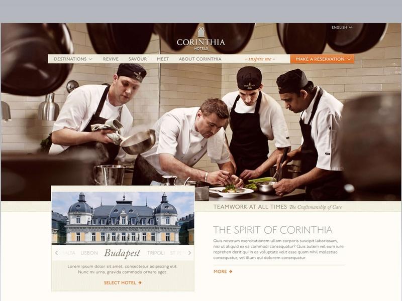 Luxury hotel redesign webdesign website concept website design websitestyle websites redesign luxury brand hotels luxury
