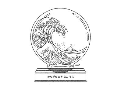 04 WAVES 🌊✨.  04/31 💙 Inktober 2019