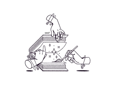 15 BOOK 📕🔮 . 15/31 🖤 Inktober 2019 line art drawing minimalism minimalistic doodle digital art digital illustration illustration spellcaster magician sorcery magic witch witchcraft spellbook book handbook read inktober2019 inktober