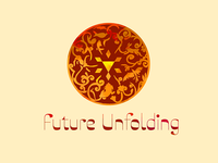 Logo for Future Unfolding (game)