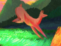 tiny detail of cover for Future Unfolding