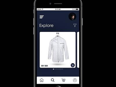 Moslem Shopping App UI Concept app design uiuxdesign uiux jakarta indonesia bekasi ui design app