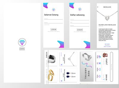 UI Design Jewelry Shop