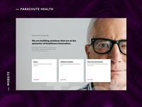 Exploration —Parachute Health Website