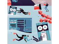 DO Mural - Scuba Divers