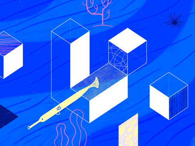 Laravel geometric logo design app tech flat texture vector icon illustration