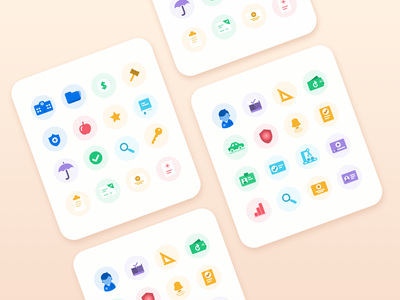 EverCheck custom icons evercheck custom icons simpe icons web icons delightful colorful icons notification license doctor healthcare colorful clean icon