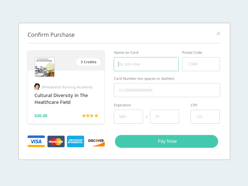 Payment Form payment form credit cards popover form clean form purchase rating card