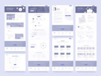 ThrivePass Marketing Website Wireframes