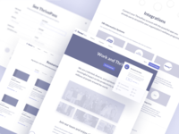 ThrivePass wireframes - more