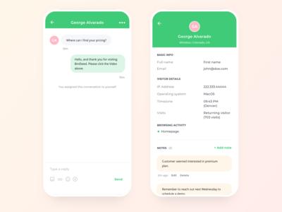 Birdseed live chat details
