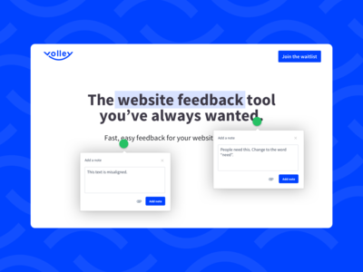 Meet Volley - a tool made by designers for designers